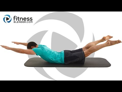 Abs and Lower Body Pilates Workout for Beginners to Intermediate