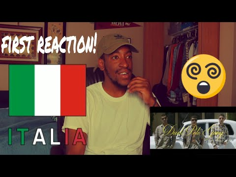 FIRST REACTION TO ITALIAN RAP / HIP HOP