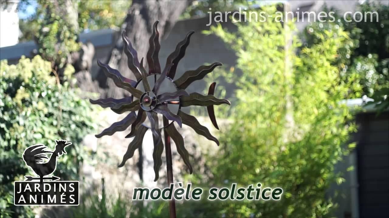 Mobile eolienne youtube for Eolienne de jardin