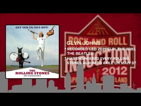Inductee Spotlight: Glyn Johns