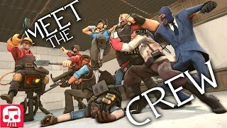 "Gambar cover TEAM FORTRESS 2 RAP by JT Music - ""Meet The Crew"""