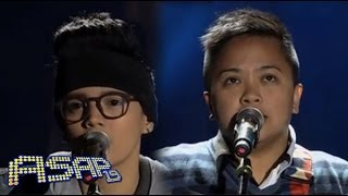 Epey Herher sings 'Wish You Were Here/Always Be My Baby' with Aiza Seguerra