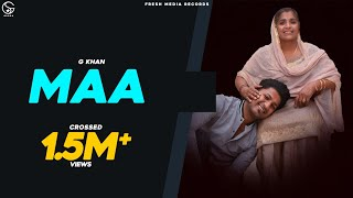 Maa | G khan | Ricky Khan | Official Song 2020 | Fresh Media Records