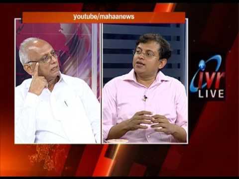 Editors Time  With Chief Editor IVR|| Babu Gogineni|| Mahaa News|| Part-1