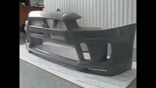 Передний бампер  Extreme Mitsubishi Lancer X