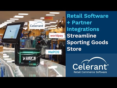 Retail Software Integrates W/ Worldpay & MePOS To Streamline Sporting Goods Store