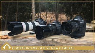 10/ Canon 1DX Mark II vs. Canon 5D Mark IV vs. Canon 5D Mark II comparison