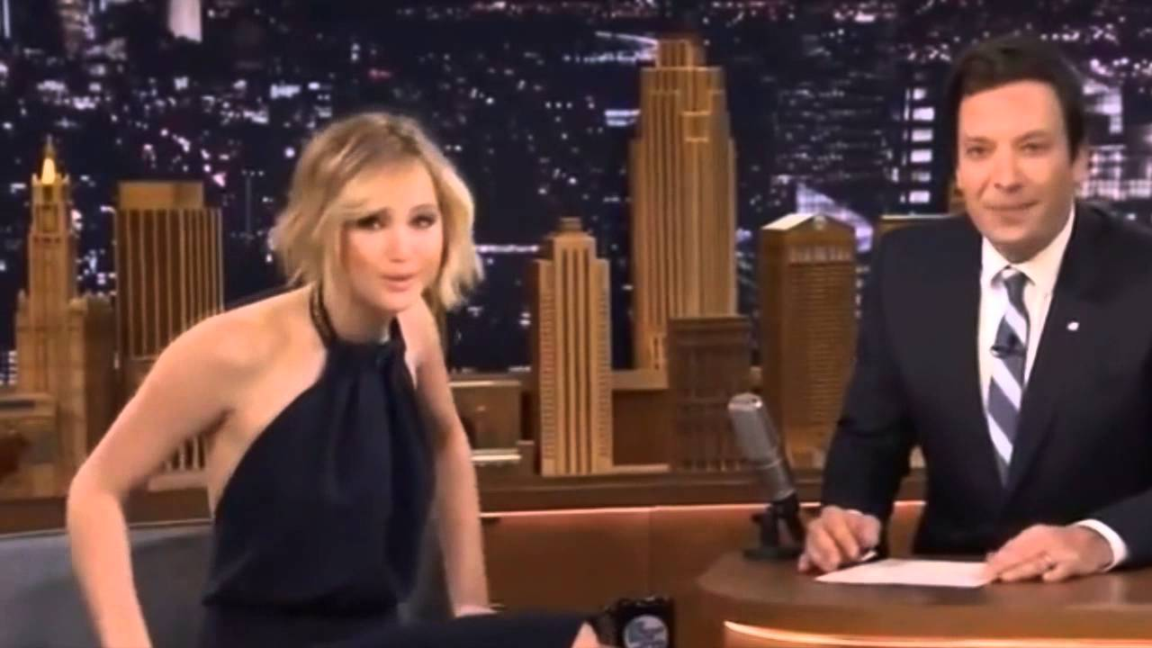 Jennifer Lawrence Interview on Jimmy Fallon 2014 - Full ...