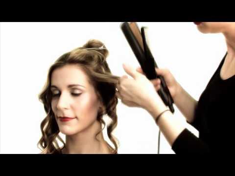 peinado: ondas de primavera - plancha ghd - look sexy y romántico