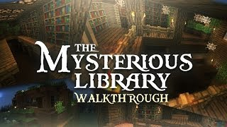 The Mysterious Library: Minecraft Adventure Map // WALKTHROUGH