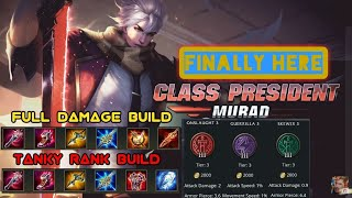 Murad Class President skin - Arena of Valor jungle gamplay commentry