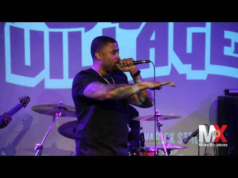 RL (formerly of NEXT) performs 'Too Close' at #SolVillage in NYC