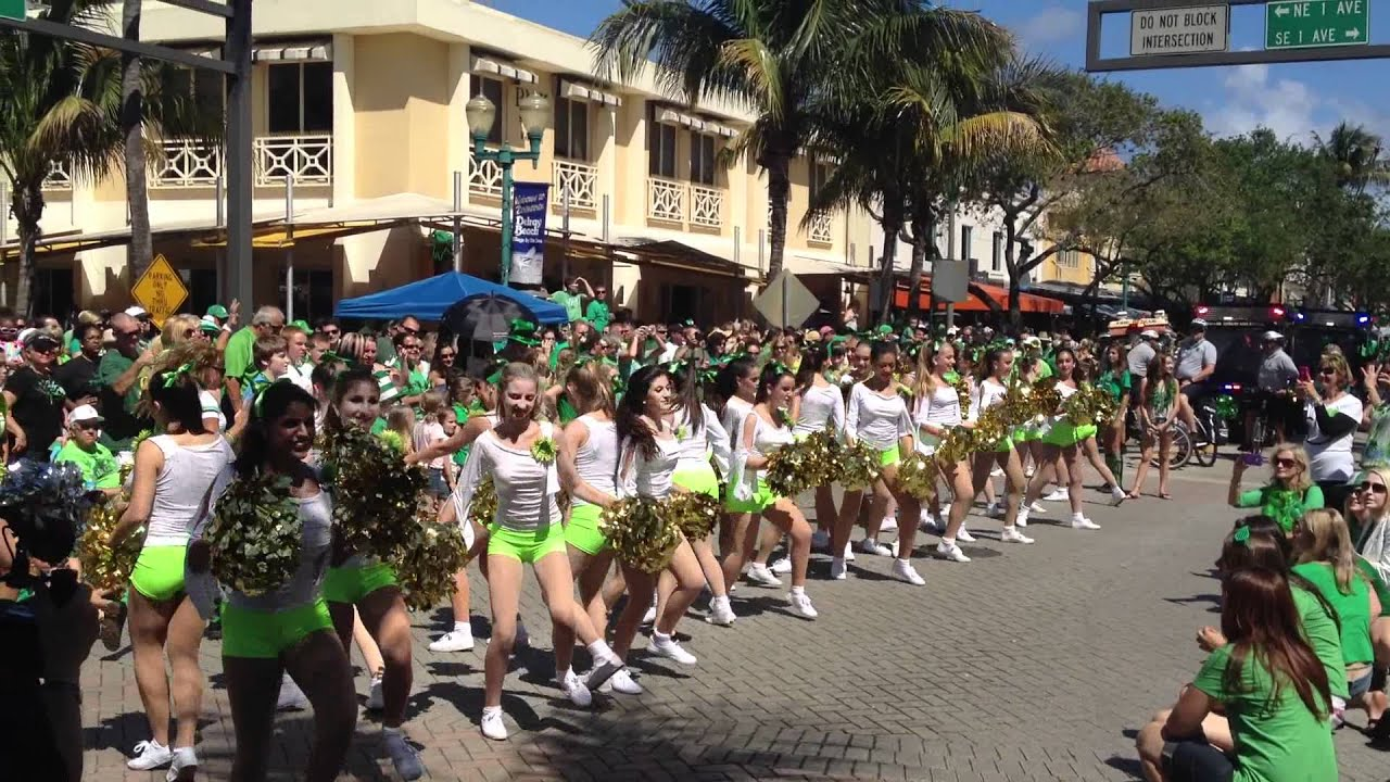 Southern Dance Theatre St Patrick S Day Parade Delray Beach Fl