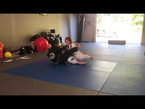 Bjj Positional Drill for Kids ( closed guard pass drill )