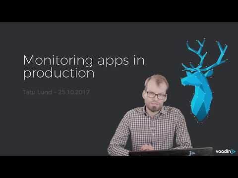 Monitoring apps in production