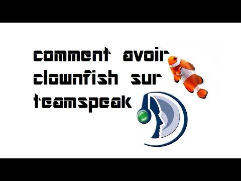 Tuto : comment avoir clownfish sur teamspeak ! - YouTube