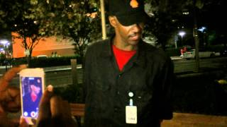 Homeless Man Rapping About Some Real Ish (Old school Flow) Houston Texas