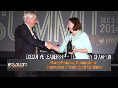 Massachusetts Digital Government Summit 2014 – Excellence in Technology Awards