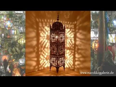 orientalische lampen laternen albena marokko galerie orientlampen youtube. Black Bedroom Furniture Sets. Home Design Ideas
