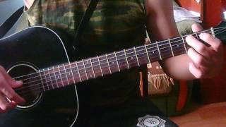 Видеоурок guitarleson Beatles yesterday part 2 (for sister)