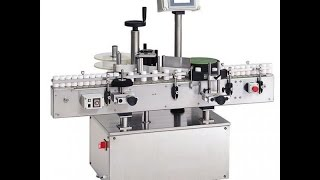 syrup bottle labeler machine for round bottle labeling system with PLC controller
