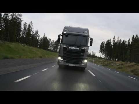 Scania New R, jazda