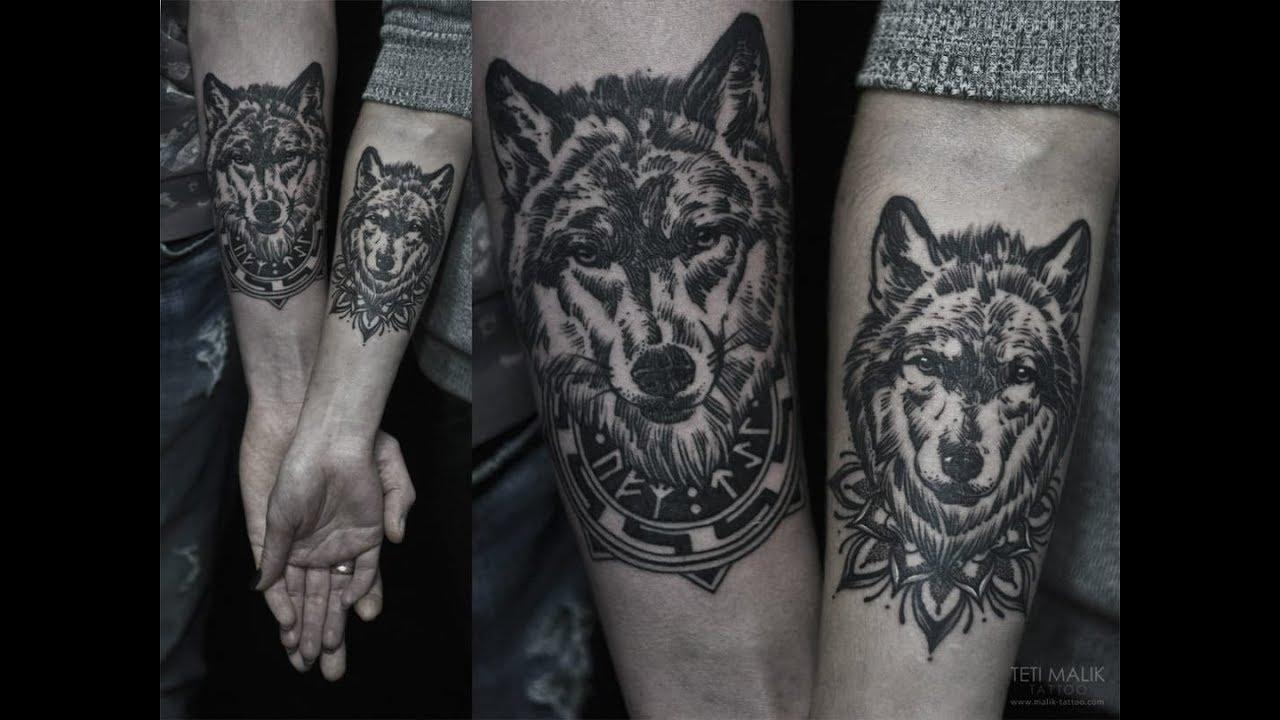 Diseños De Tatuajes De Lobos Para Hombres Con Su Significado Youtube