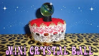 How To Make A Doll/lps Table And Crystal Ball - Easy Lps Crafts & Doll Crafts