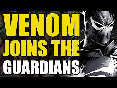 Venom Joins The Guardian of The Galaxy (Guardians of The Galaxy Vol 3: Guardians Disassembled)