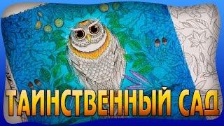 ТАИНСТВЕННЫЙ САД РАСКРАСКА АНТИСТРЕСС | СОВА | ДЖОАННА БЭСФОРД | YulyaBullet