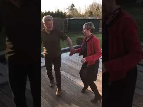 Dag 9: De bijdrage van Patrick & Myriam met hun Disco Swing.a