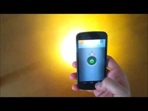 Flashlight LED Genius (Android free application)
