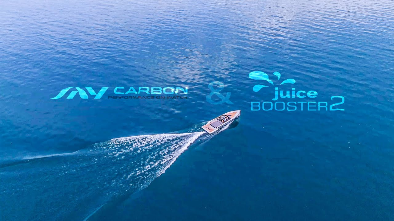 Superfast electric speed yacht! – #JUICEBOOSTER2
