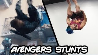 Doing Stunts From Marvel's Avengers: Age of Ultron In Real Life