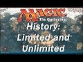 The History of MAGIC THE GATHERING | The Limited and Unlimited Sets, Epic Beginnings