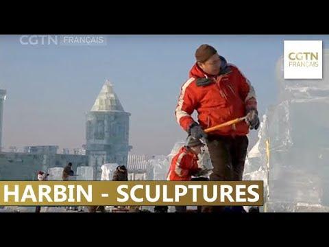Compétition internationale de sculpture sur glace de Harbin