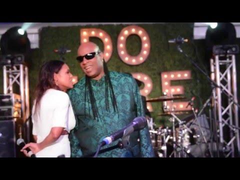 Global Green USA's Pre-Oscars Party with Stevie Wonder| LA Fashion Judge