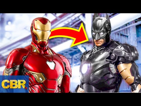 Iron Man Suits We'd Love To See On Other Super Heroes