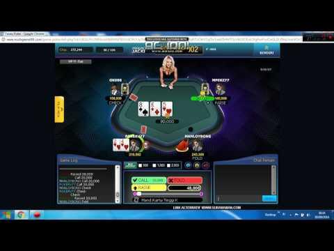Tips dan trik cara menang bermain poker online uang asli