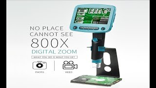 Review DM-01 Digital Microscope | No Place Can Not See