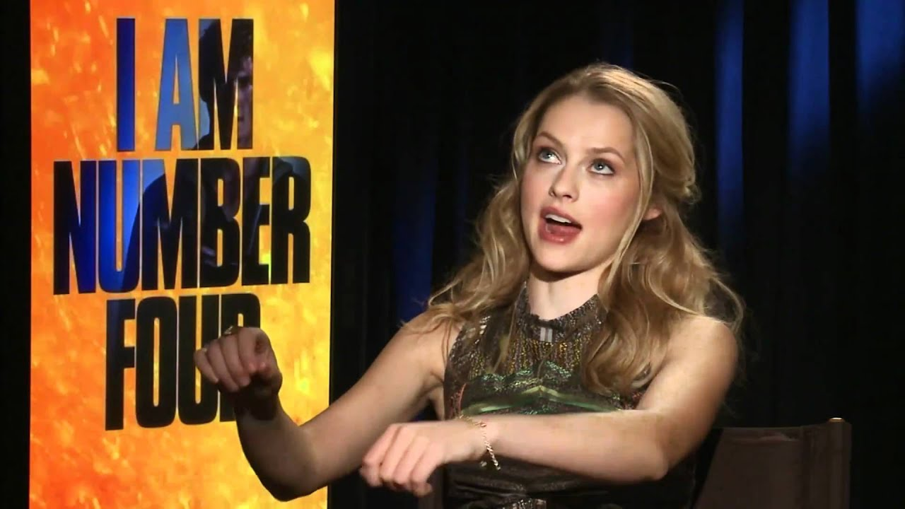 Teresa Palmer Interview: I Am Number Four Junket - YouTube