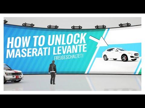 Forza Horizon 4 |How to unlock the Maserati Levante S Easy & Fast thumbnail
