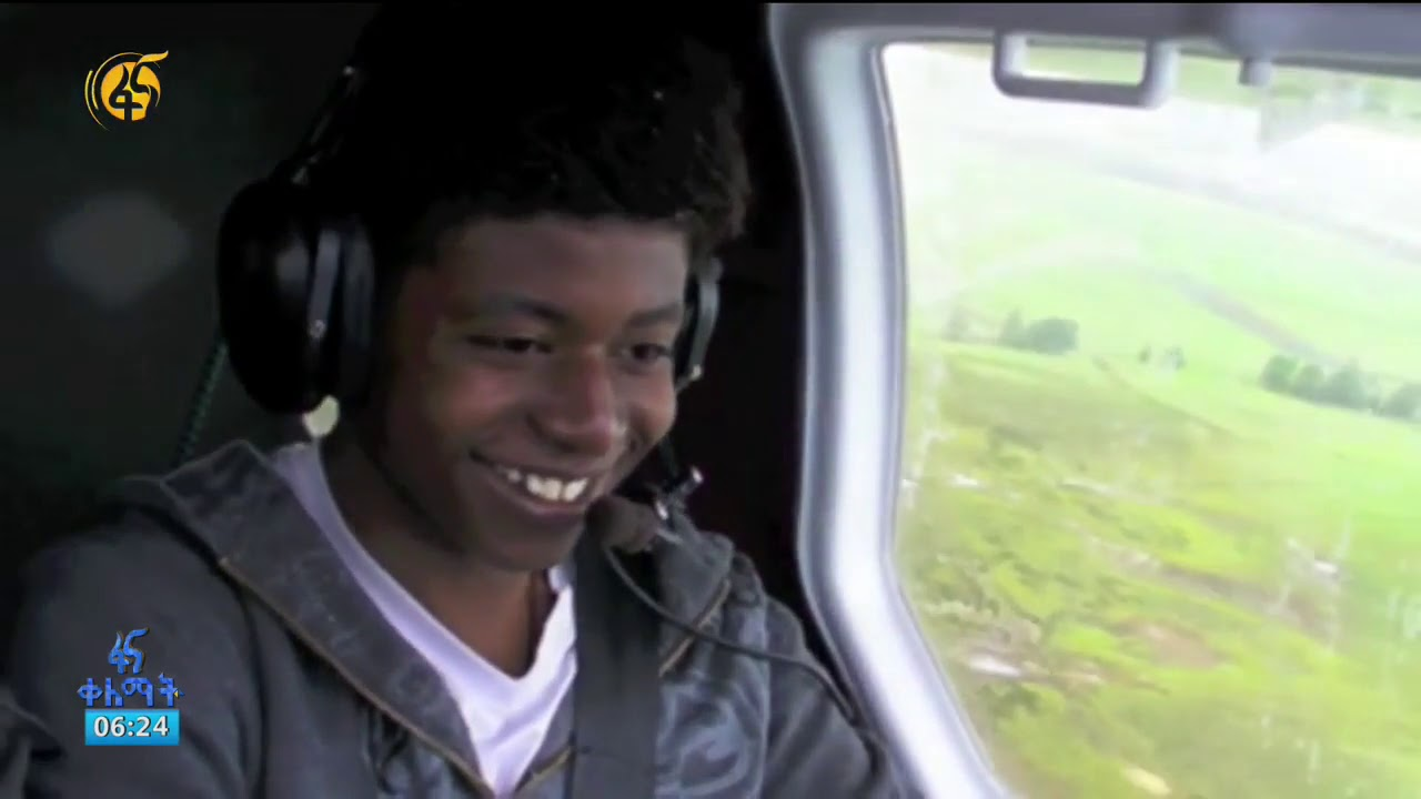 16-year-old pilot with a fleet of crew and a creative young man