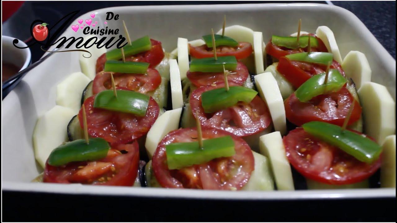 roulés d'aubergines à la viande hachée, plat turque au ...