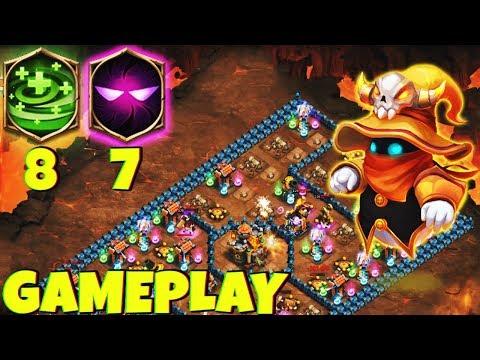12/12 Spirit Mage | 7 Unholy Pact | 8 Regenerate | Gameplay | CASTLE CLASH