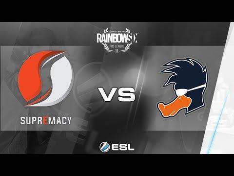 Rainbow Six Pro League - Season 2 - PC - EU - Supremacy vs. Playing Ducks - Week 5