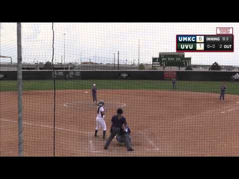 NCAA Softball: Missouri-Kansas City at Utah Valley (Gm1)
