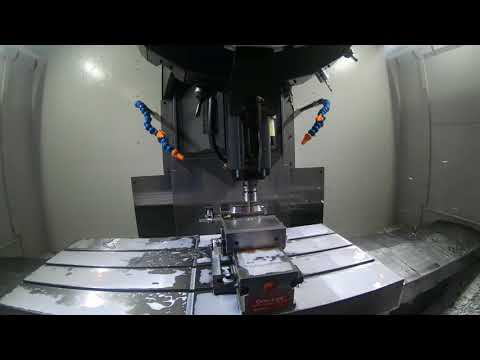 Brother steel milling demo