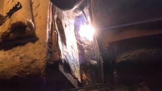 Spawanie pęknięcia pierścienia podporowego pieca cementu.  www.mws-welding.pl