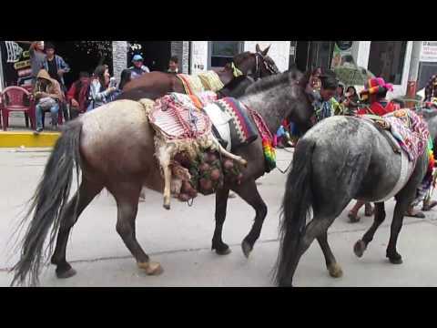 PUKLLAY  CARNAVAL DE SACCLAYA SE BAILA EN ANAHUAYLAS
